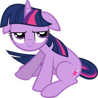 Twilight Sparkle - Sitting down offended by abydos91