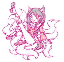 Ahri, Faekat Version by meeki
