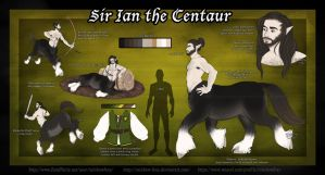 Ian The Centaur by Rainbow-Foxy