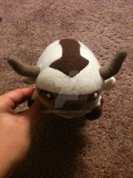 Sky Bison Plushie by gondring