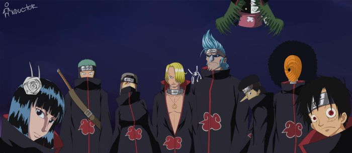 One Piece - Akatsuki by AL32ander