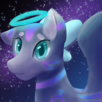 Bubbles Painting by Wintercat96