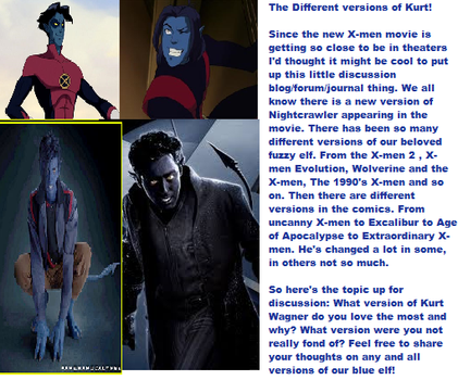 Different Versions of Nightcrawler Discussion by AnoTsukai