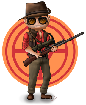 Sniper by thelittleanimals
