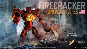 Firecracker -Pacific Rim- by ShiroIri