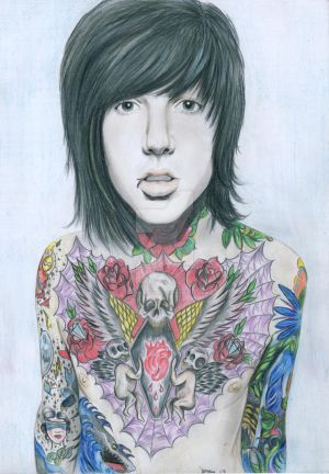 Oliver Sykes BMTH by for3veryours