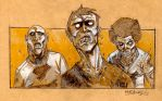 The walking dead ! by crad85