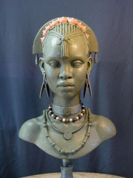 E.V. Female bust 1 by MarkNewman