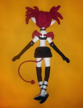 Disgaea's Etna - rear view by catsewing