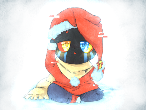Christmas Kid!Error by thegreatrouge