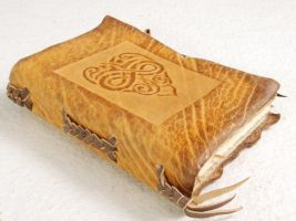 Celtic Heart Notebook by gildbookbinders