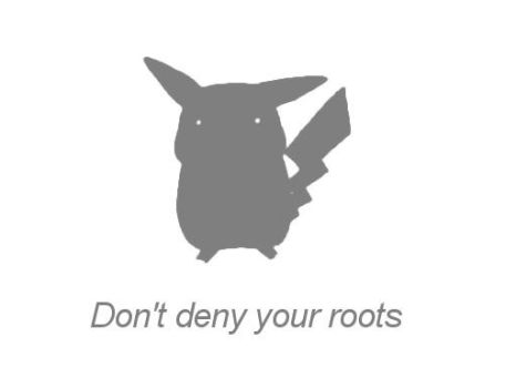 Don't deny your roots by Vamich