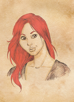 Watcher Gifts: faithkendall by SketchyBailey