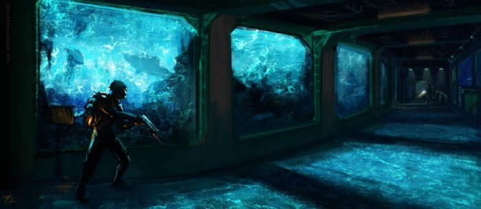 Aquarium Sneakabout by timegate